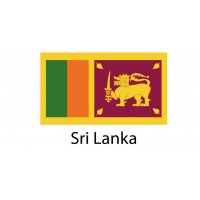 Sri Lanka Flag sticker die-cut decals