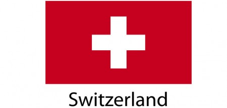 Switzerland Flag sticker die-cut decals