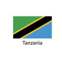Tanzania Flag sticker die-cut decals