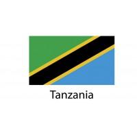 Tanzania Flag sticker die-cut decals