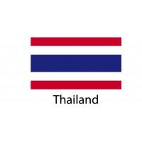 Thailand Flag sticker die-cut decals