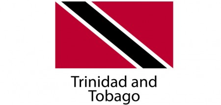 Trinidad and Tobago Flag sticker die-cut decals