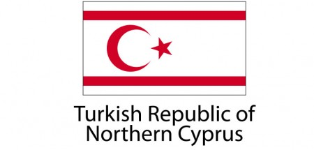 Turkish Republic of Northern Cyprus Flag sticker die-cut decals