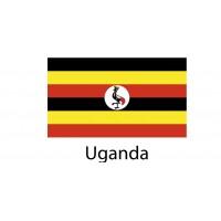 Uganda Flag sticker die-cut decals