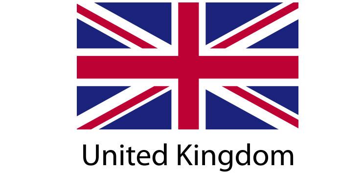 United Kingdom Flag sticker die-cut decals
