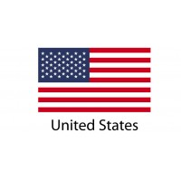 United States Flag sticker die-cut decals