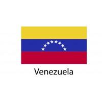 Venezuela Flag sticker die-cut decals