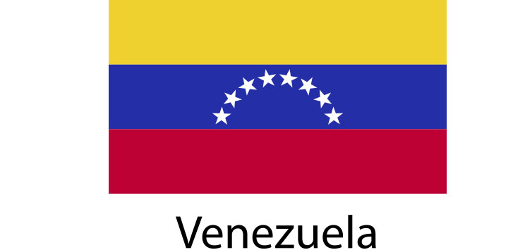 Venezuela Flag sticker die-cut decals