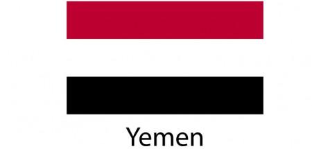 Yemen Flag sticker die-cut decals
