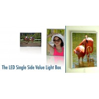 LED Frame for digital Graphics