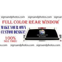 Rear Window . Make your own custom design! (Custom Graphic)