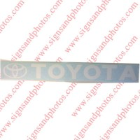 Toyota Decal