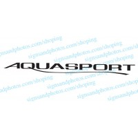 Aquasport Boat Logo Decals