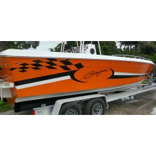 Baja Boat Logo Graphic Decals