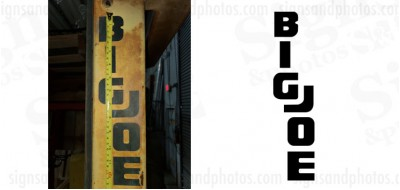 Big Joe Forklift  Decals