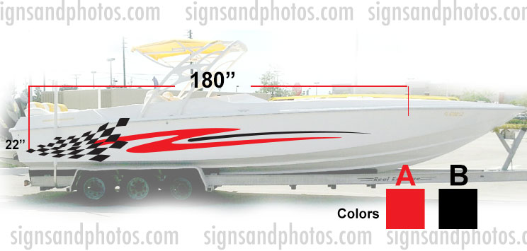 Boat Graphic 10003
