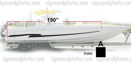 Boat Graphic 10005