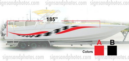 Boat Graphic 10006
