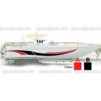 Boat Graphic 10007