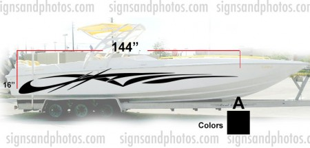 Boat Graphic 10008
