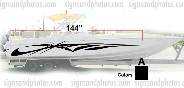 Boat Graphic 10008