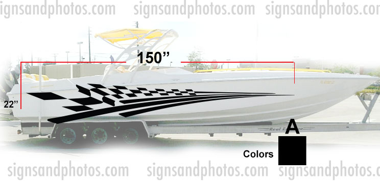 Boat Graphic 10009