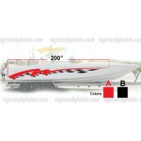 Boat Graphic 10002