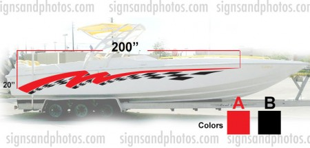 Boat Graphic 10002