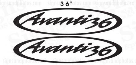 """Avanti 36 (36""""x9.75"""")"""