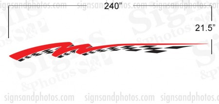 Boat Graphic 10002 (Masking Stencil)