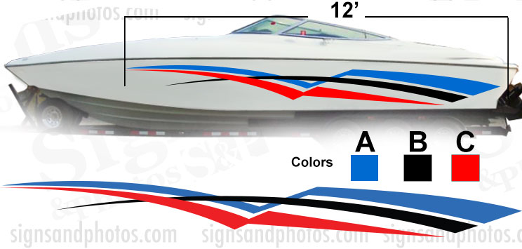Boat Graphic 10010
