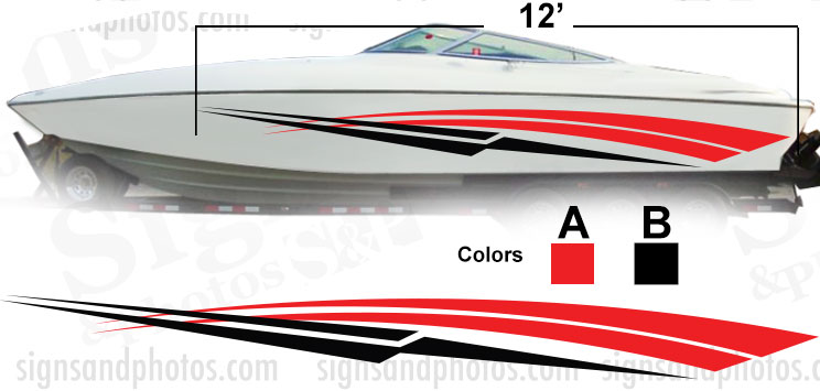Boat Graphic 10011