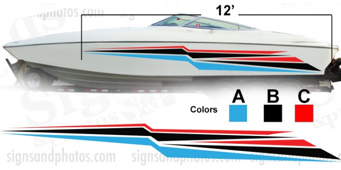 Boat Graphic 10012