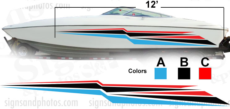 Boat Graphic 10012