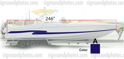 Boat Graphic 10005-A