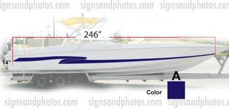 Boat Graphic 10005-A