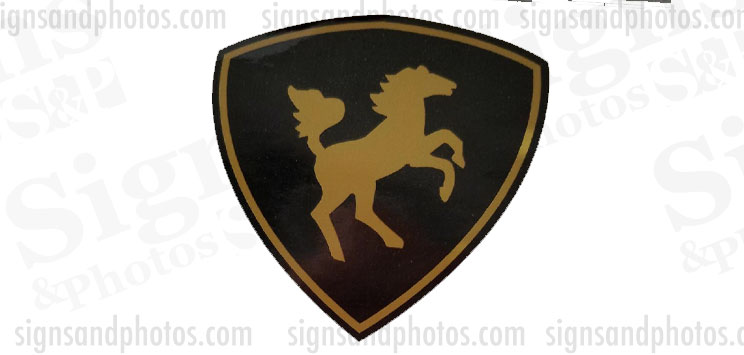 "Century Boat Logo Emblem 2 colors 3"""