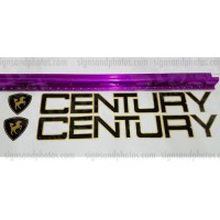 "Century Boat Logo and Emblem 2 colors 27""x3"""