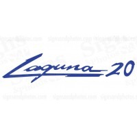 Laguna 20 boat decal