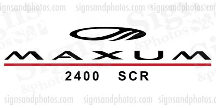 MAXUM Logo Decals