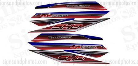 Jet Ski Yamaha FX Cruiser Decal Set