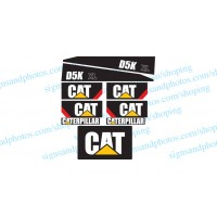 Bulldozer CAT D5K XL  Decals kit