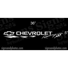"""Chevrolet Windshield Decal 5"""" x 36"""""""