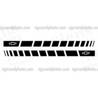 Chevrolet  Side Stripes  Black