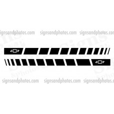 Chevrolet  Side Stripes  Black
