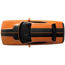Dodge Challenger Full Rally Hood T Stripe, Roof and Trunk