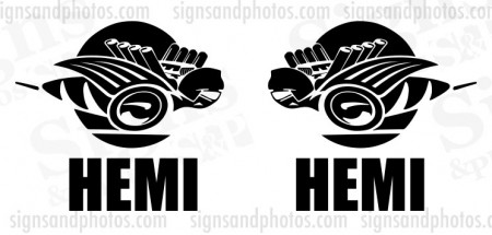 "Dodge Ram Rumble Bee  Vinyl Decal 6.5"" x 6"""