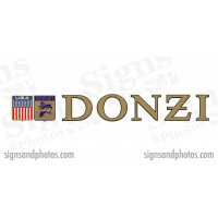 "DONZI Hulls side Logo Decal Set 6"" H"