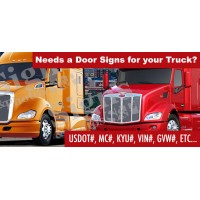 Door Signs for Truck (Custom)