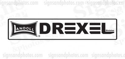 DREXEL  Landoll Decals